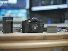Olympus E-M10 Mark III Mirrorless MFT 16.1MP Camera Black + Batteries & Strap
