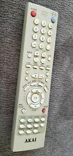 Akai 00265A Tv Dvd Vcr Combo Remote Control Cxn2085 Cxn2085Tp B27Tf6 tested