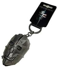Dishonored 2 3-D Metal Mask Keychain Video Game bethesda
