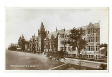 POSTCARD 'YORKSHIRE' The University, Leeds (RP) /D-105