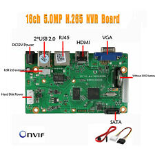 16CH H.264 Network Digital Video Recorder Mainboard  ONVIF CMS XMEYE NVR Board
