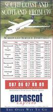 Euroscot Express system timetable c 1998 [8081]