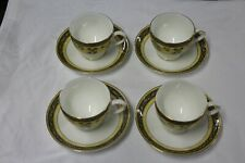 4 Wedgwood England Bone China 1996 INDIA Cups & Saucers MINT