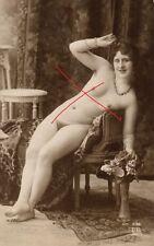 21758/ Foto AK, Vintage Erotik, sexy girl, Pin-Up, ER Paris  204, ca. 1910