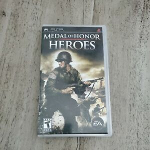 Medal of Honor: Heros (Sony PSP, 2007) Complete Tested Working Black label