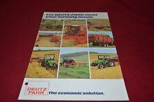 Deutz Fahr Buyers Guide Dealer's Brochure DCPA2