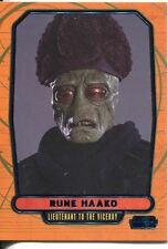 Star Wars Galactic Files Blue Parallel #85 Rune Haako