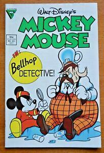 Walt Disney's Mickey Mouse #251 VF (Oct 1989, Gladstone)
