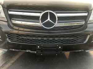 License Plate Bumper Mount Holder Bracket For Mercedes-Benz NEW