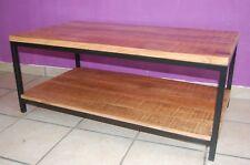Mango Holz Couchtisch Beistelltisch Anstelltisch Kaffeetisch Alan 110 x 60 x 45