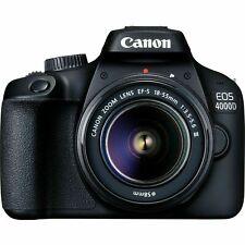 Canon EOS 4000D DSLR Camera EF-S 18-55 mm f/3.5-5.6 III Lens
