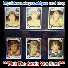 ☆ Monty Gum Footballers Plain Back 1975/76 (G) ***Pick The Cards You Need***
