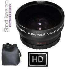 HD WIDE ANGLE WITH MACRO LENS FOR CANON VIXIA HF R21 R20