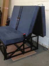 ¾ Rock and Roll Bed with budget upholstery and Seatbelts (3 Section)