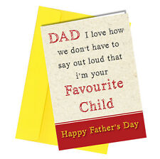 Greetings Card / Comedy / Rude / Funny / Humour / Father's Day / Dad Daddy #161