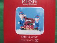 Santa'S Elves Figurine Dept 56 2011 rudolph misfit toys New