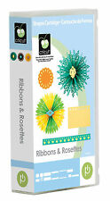 CRICUT *RIBBONS & ROSETTES* ART CARTRIDGE *NEW* MEDALLIONS RHINESTONES BORDERS