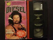 WWF - Diesel: Big Daddy Cool (VHS, 1995) Kevin Nash Shawn Michaels Bret Hart WWE