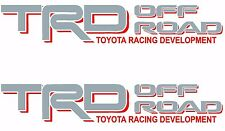 TOYOTA TRD OFF ROAD Decals /Vinyl Stickers 1 PAIR truck bed FREE SHIPPING