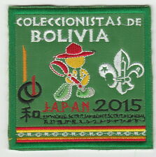 2015 world scout jamboree Japan / BOLIVIA Contingent official  patch badge