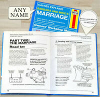Personalised HAYNES EXPLAINS Owner Workshop Manuals FUNNY Novelty GIFT Ideas