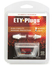 Etymotic Research ER20 ETY-Plugs High Fidelity Musician Earplugs - LARGE, CLEAR