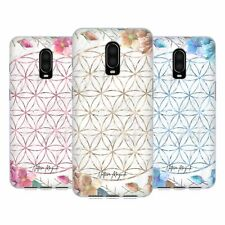 NATURE MAGICK MARBLE MANDALA GEOMETRIC GOLD GEL CASE FOR AMAZON ASUS ONEPLUS