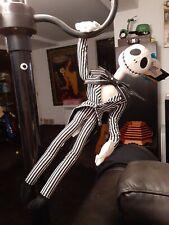 "Nightmare Before Christmas Jack Skellington Poseable Plush 19"" Nwt"