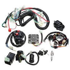 Motorcycle ATV Quad Electric Spark Plug Switch Razor CDI Coil Wire Harness Set