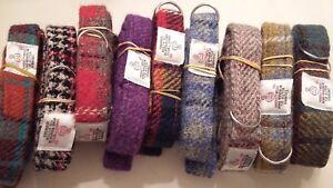 Harris Tweed Dog leads various colours *FREE POSTAGE*