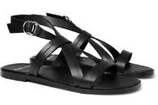CRAZY COOL, NEW, SUPER RARE PIERRE HARDY BLACK LEATHER SANDALS (NWB)