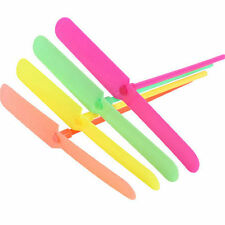 20Pcs Plastic Bamboo Dragonfly Propeller Outdoor Children Flying Toy Gift