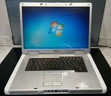 "Dell Inspiron 9400 laptop - 17"" screen, Firewire, windows 7, 1.66mhz / 2gb"