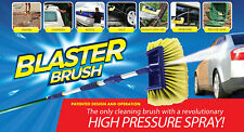 New Blaster Brush for Car Boat House Caravan Cleaning Brush High Pressure Spray