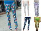 Maternity leggings,Maternity pants,floral flower belly elastic waist trousers