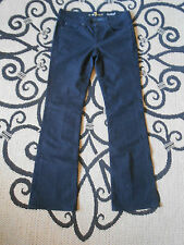 7 FOR ALL MANKIND JEANS SIZE 28 black LIGHT WEIGHT LoWaist32X31 BOOTCUT LKnew