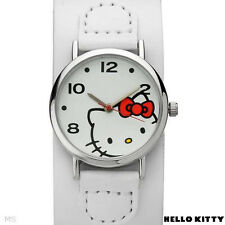 HELLO KITTY  Ladies Watch in White Leather Model h3wl1000nonnf