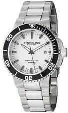 Stuhrling Original Mens 749 01 Aquadiver Regatta Swiss Quartz Bracelet Watch