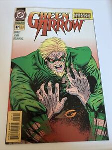 Green Arrow #87 DC Comic Book June 1994 Cross Roads Dooley Aparo Fernandez