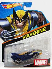 Marvel Avengers Comic Heros Hot Wheels 1/64 Character Car Wolverine NEW