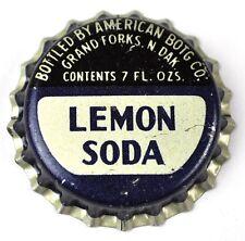 Lemon Soda Kronkorken USA Soda Bottle Cap Korkdichtung