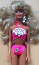 Vintage Retro Hasbro 1990 'Sun Jewel' Barbie Doll