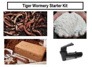 Tiger Wormery Starter Kit