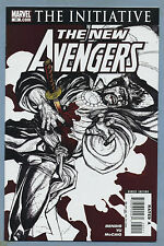 New Avengers #30 2007 The Initiative Brian Michael Bendis Leinil Yu Marvel mD