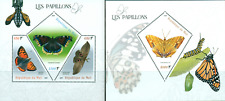 Butterflies Insects Fauna MNH stamps set