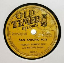 78 FIDDLING FORRESY DELK GULLY JUMPERS OLD TIMER SAN ANTONIO ROSE HOT TIME IN
