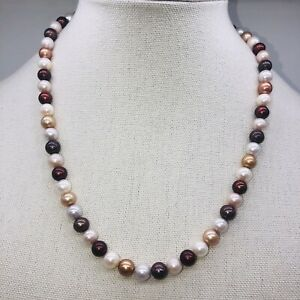 Chandrani Pearl Necklace Fall/Autumn Colors