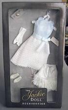 Franklin Mint Jackie Kennedy Mexico Visit Blue White Doll Outfit Ensemble Box
