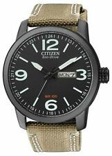 Citizen Eco-Drive Men's Global Collection Black Dial Band 42mm Watch BM8476-31E