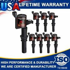 Ignition Coils 8 Pack For Ford F-150 Lariat  Navigator 2004 2005 2006-2009 DG511